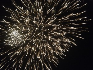 最後は盛大な花火が打ち上がりました!!